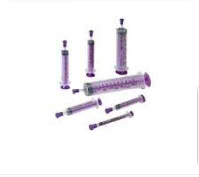 5 Pack Covidien Monoject Enteral 12ml Syringe Wtip Cap 412sg