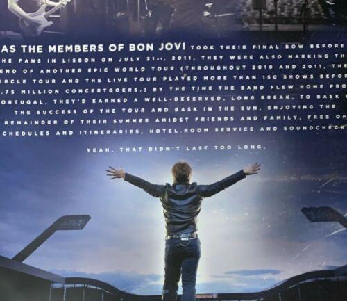 Jon Bon Jovi Because We Can Concert Tour Program 2013 Gorgeous Book