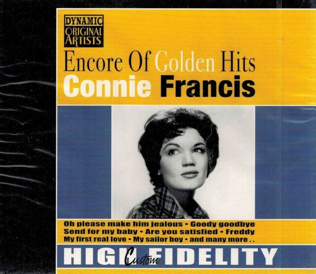 MUSIK-CD NEU/OVP - Connie Francis - Encore Of Golden Hits