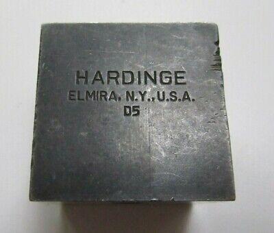 Hardinge D5 Style 38 Tool Holder Cross Slide Lathe Cutting Missing Wedge