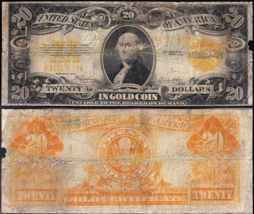 Affordable 1922 $20 *GOLD CERTIFICATE*! FREE SHIPPING! K61825557