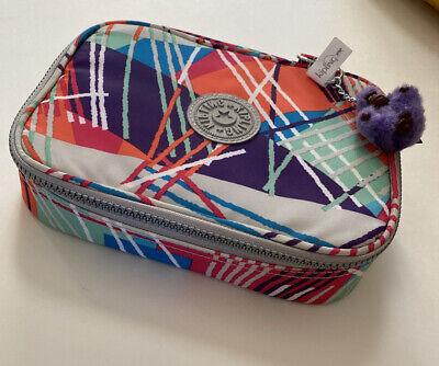 Kipling 100 Pens Pencil Cosmetics Case Travel Storage