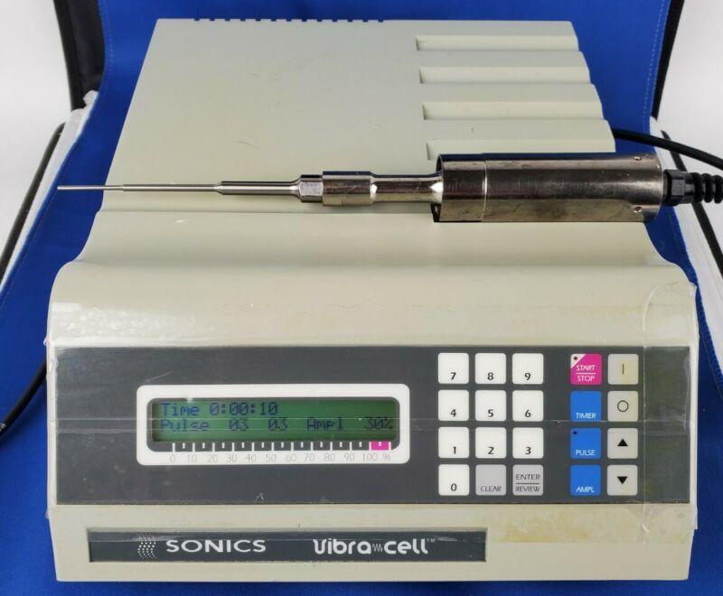 Sonics Vibra Cell VM-3000 VCX 130 Mini Vortexer w/ Probe