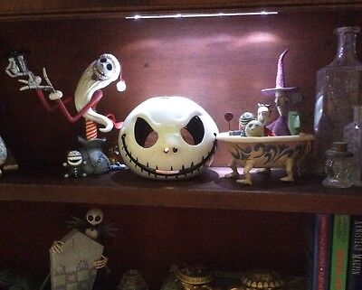 Disney Parks Nightmare Before Christmas Jack Skellington Votive Candle Holder