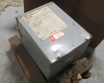 Cutler Hammer S48g11s05n 5 Kva Dry Distribution Transformer Series A Used