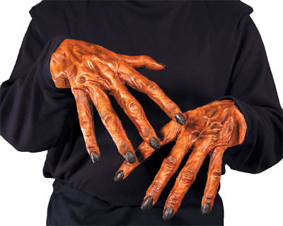 Morris Costumes Unique Creepy Cool Comfortable Wear Latex Wolf Hands. MR156017](Easy Creepy Costumes)