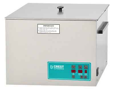 New Crest Cp1800d 20 Liters Benchtop Ultrasonic Cleaner Timer Heat Degas