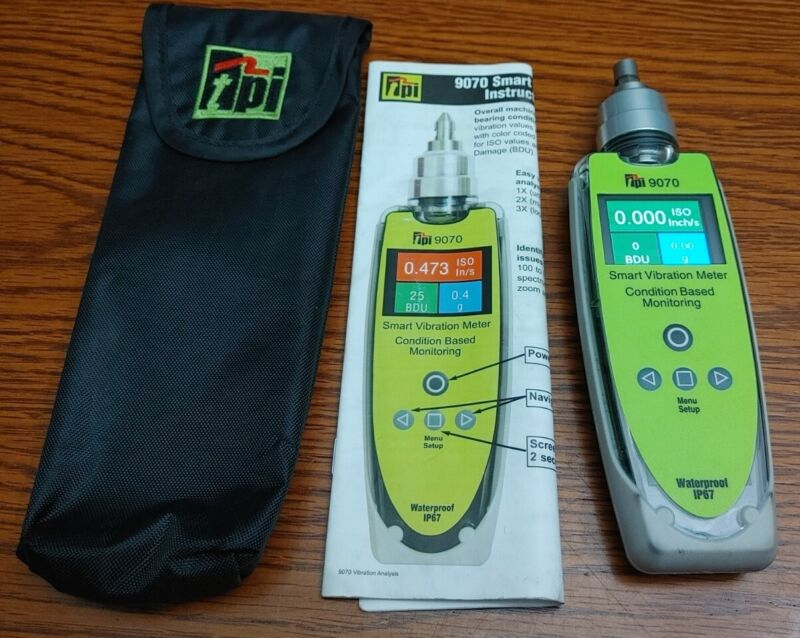 TPI 9070 Smart Vibration Meter