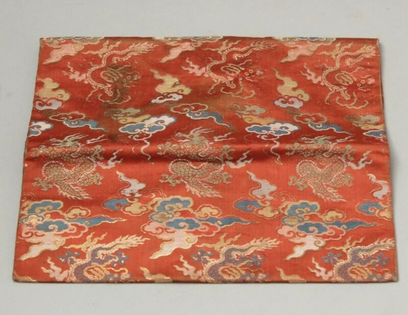 Antique Chinese Qing Dynasty Silk Robe China Asian