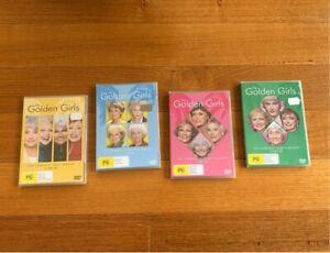 BRAND NEW The Golden Girls DVDs Seasons 1-4