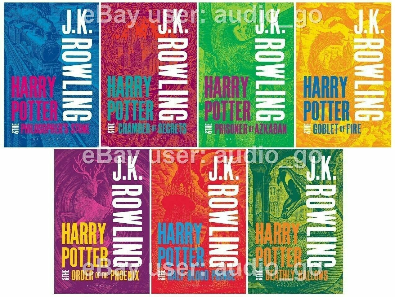 Harry Potter Unabridged Audiobooks Narrated by Stephen Fry  Jim Dale