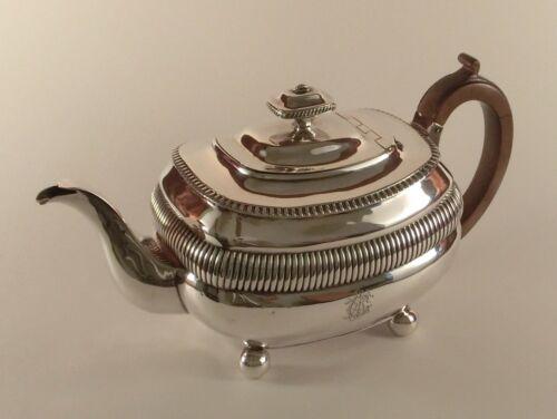 Lovely 1808 Georgian English Silver Teapot - Solomon Hougham, London