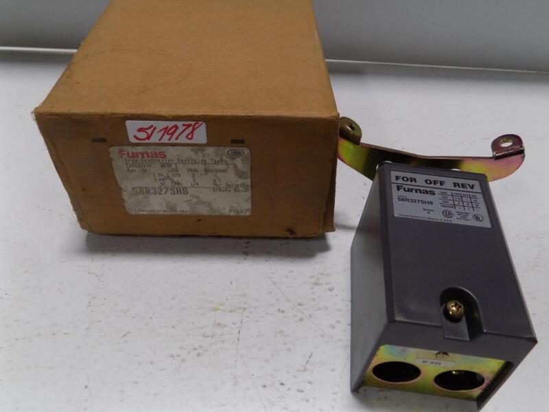 FURNAS DRUM CONTROLLER REVERSING TYPE ENCLOSURE 58R327SH8 NIB