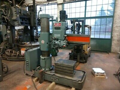 4 X 13 Ikeda Rm-1175 Radial Drill