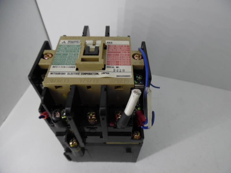 MITSUBISHI ELECTRIC MAGNETIC CONTACTOR SD-K65
