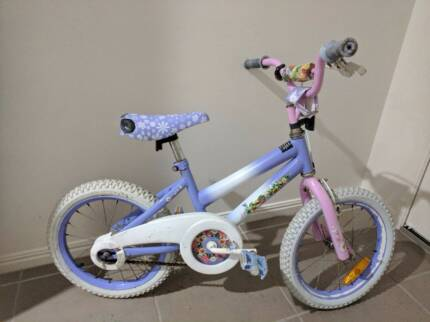 Tinker Bell Girls BMX Bike with free trainer wheels if wanted