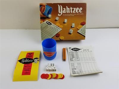 Vintage 1975 E.S. Lowe Milton Bradley Yahtzee #950