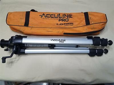 Acculine Accu-line Pro Laser Level Tripod Made By Johnson Level - Tripod Only