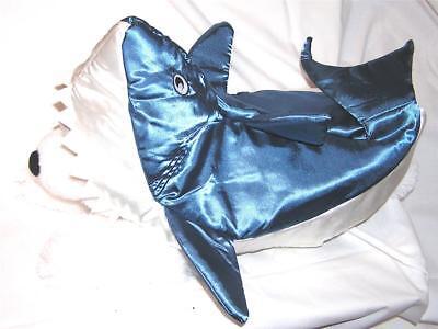 Animal Welfare League Benefit Costume Parade Halloween Dog SIZE M BLUE SHARK - Animal Halloween Costumes For Dogs