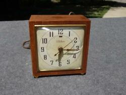 Telechron Electric Retro 50's Art Deco Style Alarm Desk Table Clock Repair