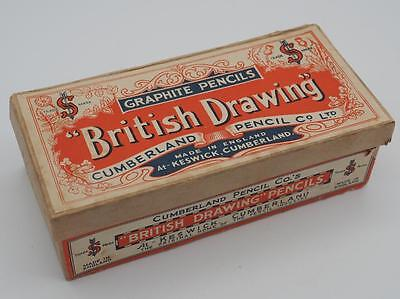 Vintage Cumberland Pencil Co's. British Drawing Box Advertising