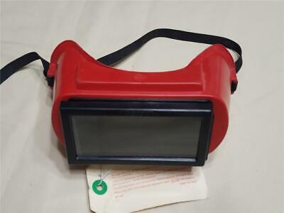 Vintage Jackson Snugside Ws-80 Gas Welding Goggles - Glass Lenses Jphg-5