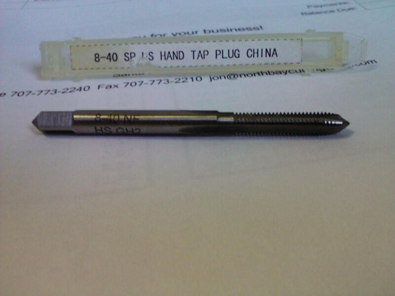 8-40 GH2 HIGH SPEED STEEL PLUG TAP