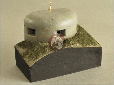 Verlinden 1/35 VP 2613 MG Dome Eines Atlantic Wall Bunker