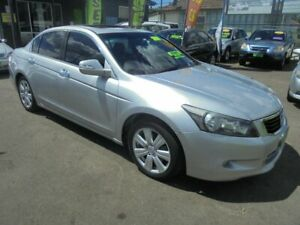 2009 Honda Accord 50 V6 Luxury Silver 5 Speed Automatic Sedan Punchbowl Canterbury Area Preview