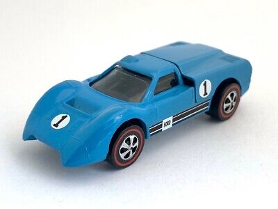 Hot Wheels Redline Ford J-Car Light Blue Enamel -- Restored