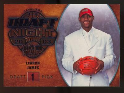 2008 Fleer Hot Prospects Blue #102 LeBron James