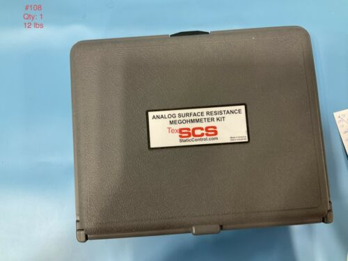SCS 701 Analog Surface Resistance Megohmmeter Kit