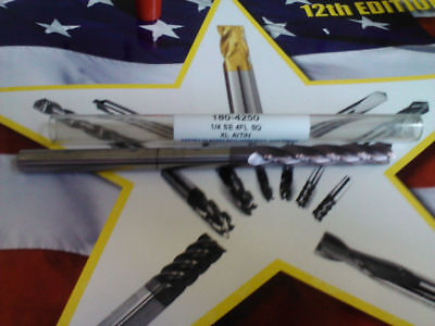 .250 14 4 Flute Altin Extra-long Length Carbide End Mill 14 X 14 X 1-12