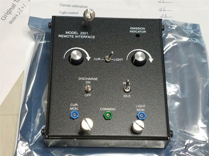 JDS Uniphase 2501 Laser Power Remote Interface NEW - JDS Power Supply Controller