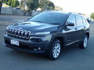 2015 Jeep Cherokee KL MY15 Longitude (4x4) Grey 9 Speed Automatic Wagon Braybrook Maribyrnong Area Preview