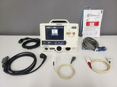 Physio-control Lifepak 20 Biphasic 3 Lead Spo2 Ecg Pacing Analyze