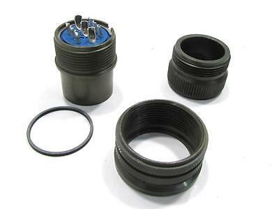 Nib Amphenol Industrial 97-3106a-20-18p-417 Ab 9c 616 312 Pin Plug