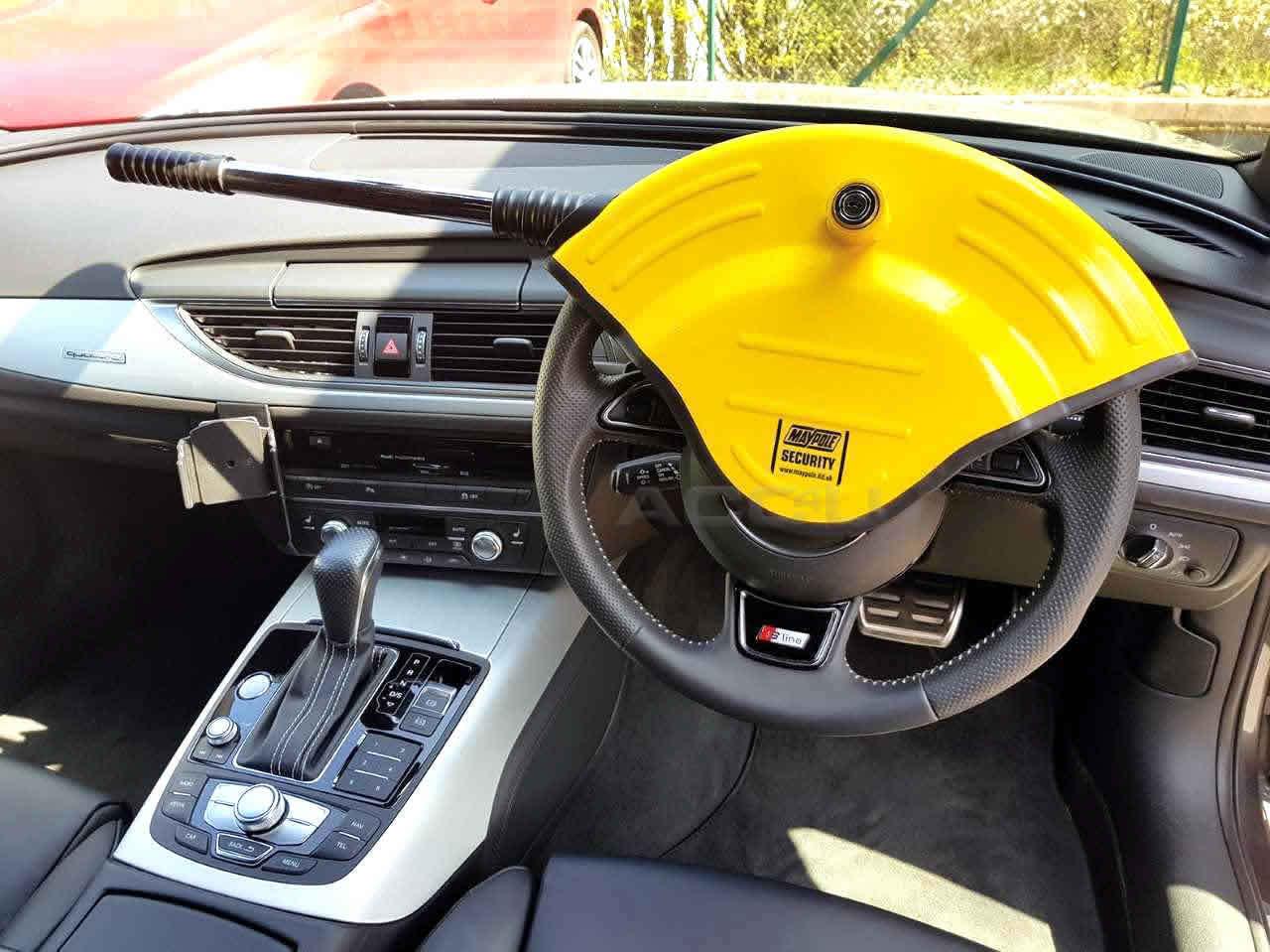 Für Nissan Qashqai Auto Stoplock Robust Hohe Sicherheit Sichtbar Lenkrad Schloss
