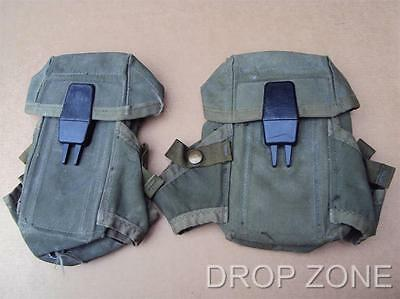 US Army Military Pair of Alice Magazine Pouches for M16 Rifle & M61 Grenades for sale  Chichester