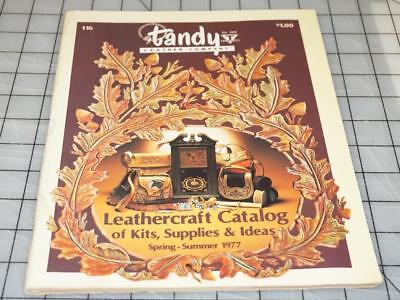 Vintage 70's TANDY LEATHER Company Leathercraft Ideas Supplies Catalog No. 116 (Catalog Party Ideas)