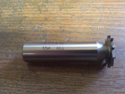 116 X 34 High Speed Steel Narrow Width Keyseat Cutter