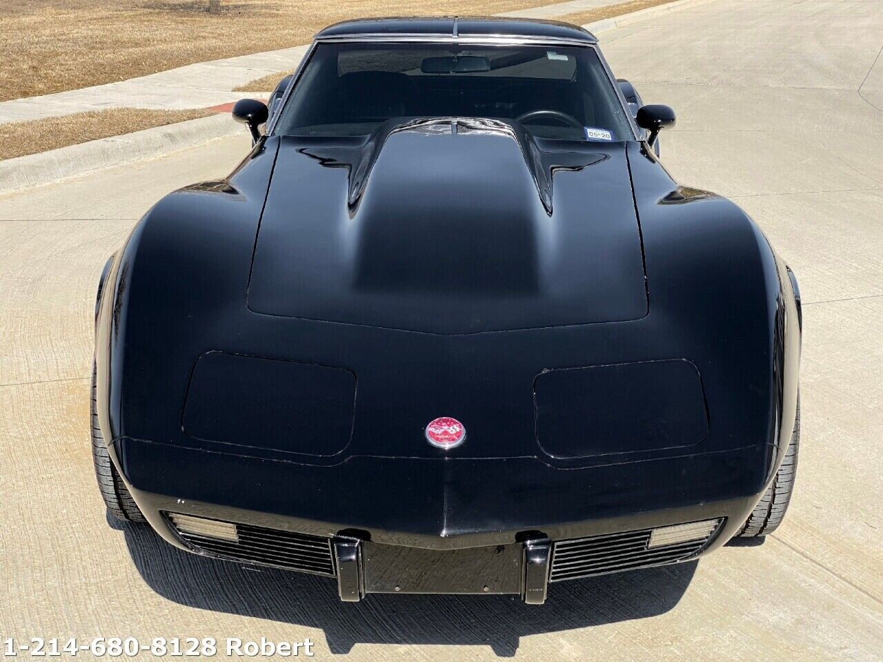 1976 Black Chevrolet Corvette Stingray  | C3 Corvette Photo 6