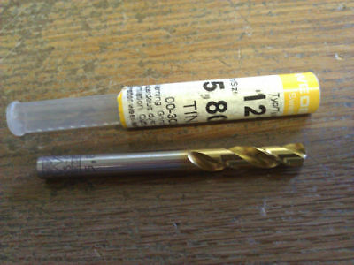 .2283 5.8mm Hsco Tin Stub Drill
