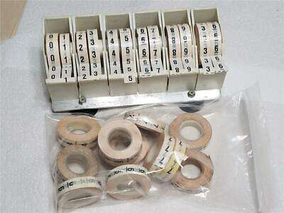 Soda And Beer System Line Marking Numbered Tape Dispenser With Number Tapes