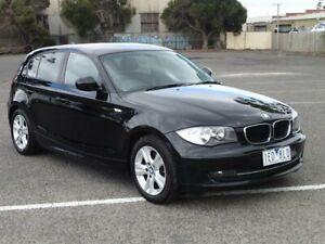 2011 BMW 118i E87 MY11 Black 6 Speed Automatic Hatchback Braybrook Maribyrnong Area Preview