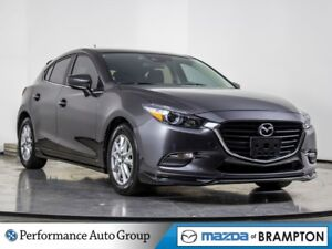 2018 Mazda Mazda3 Sport GS. CAMERA. HTD SEATS. ROOF. DEMO UNIT
