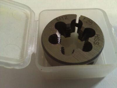 M12 X 1.25 X 1 High Speed Steel Round Adjustable Die