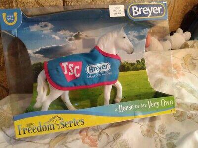 NIB Breyer 5479 TSC Exclusive Classic Percheron Draft Horse with Blue Blanket