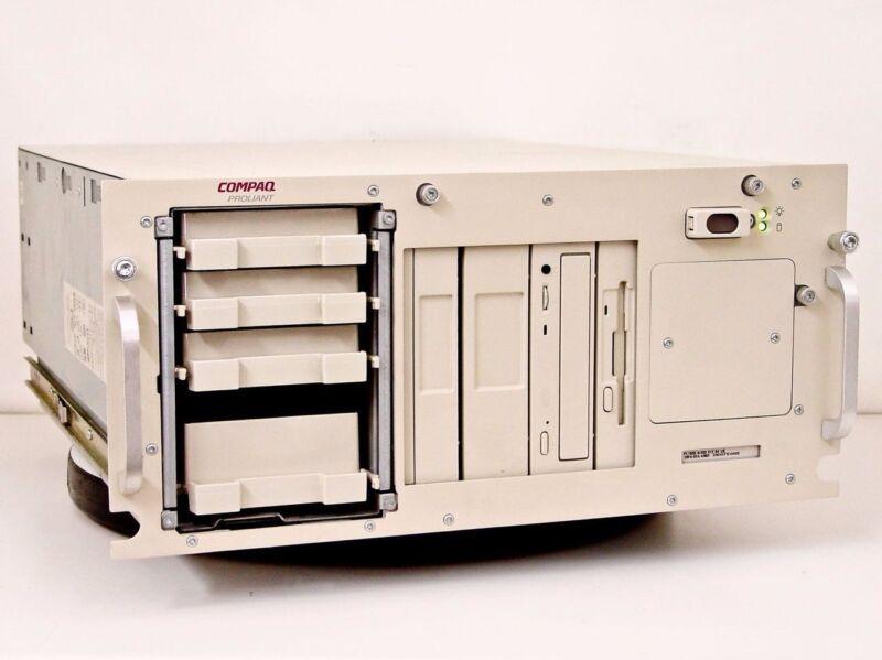 Compaq Proliant 2500R Rack Mounted Server