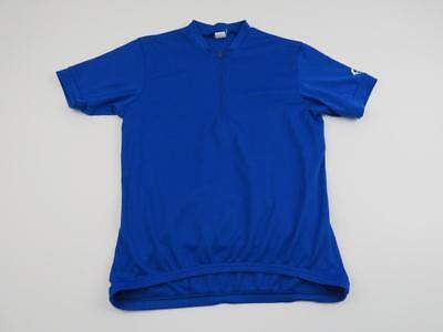 cb0e47942 Canari Mens Blue Cycling Bike Jersey Size Medium MTB Zip Shirt S S Summer  Softec